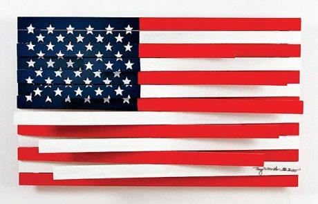 American Flag by Guy Wonder