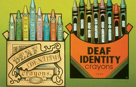 Classic Deaf Labels by Ann Silver