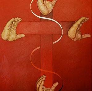 Cross by Chuck Baird