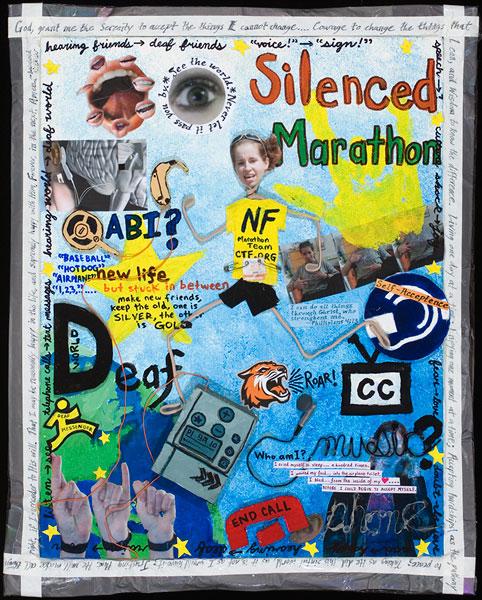 Silenced Marathon by Anne Shigley