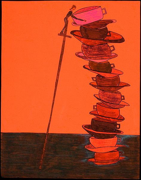 Ten Teacups by Hinda Kasher