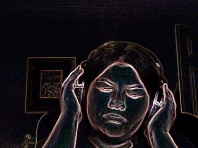 Music Falls Upon Deaf Ears by Sarah Gagliano